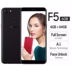 Oppo F5 Smartphone - [64GB/6GB] GARANSI RESMI OPPO 1 TAHUN