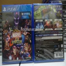 ORIGINAL - PS4 MARVEL VS CAPCOM INFINITE REG 3 ASIA ENGLISH