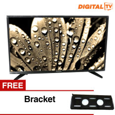 Panasonic 32 inch LED Digital HD TV - Hitam (Model TH-32E306) + Gratis Bracket