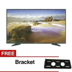 Panasonic 43 inch LED Full HD TV - Hitam (Model TH-43E305) FREE BREKET TV 43IN