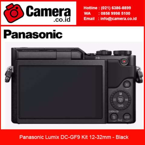 Panasonic Lumix DMC-GF9 Kit 12-32mm - Black Kamera Mirrorless 1