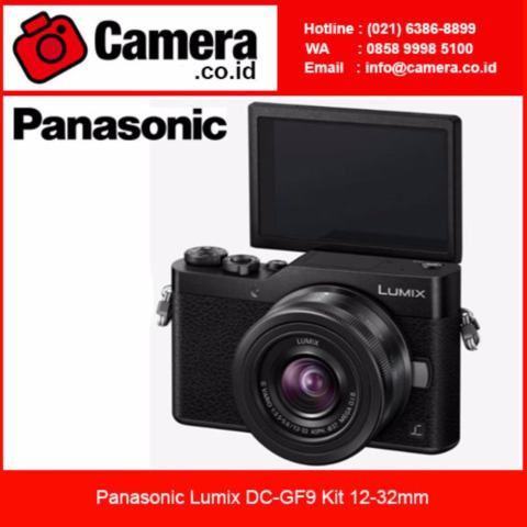 Panasonic Lumix DMC-GF9 Kit 12-32mm - Black Kamera Mirrorless 2