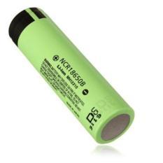 Panasonic NCR18650B Li-Ion Battery 3400Mah 3.7V 30A With Flat Top