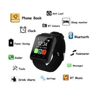 Promo Pandaoo Asli Bluetooth Smart Watch U8 Smartwatch U Watch untuk IOS IPhone Samsung Sony Huawei