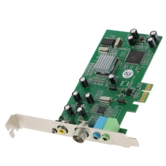 PCI-E Internal TV Tuner Card MPEG Video DVR Capture Recorder PAL BG PAL I NTSC SECAM PC PCI-E Multimedia Card Remote - intl