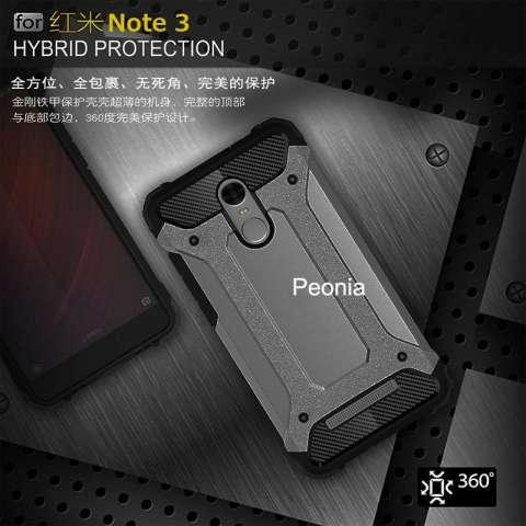 Home; Peonia Kingkong Defender Slim Armor HardCase for Xiaomi Redmi Note 3, Note 3