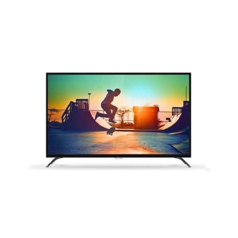 Philips 43PUT6002 4K Smart Android LED TV - Hitam [43 inch/DVB-T2]