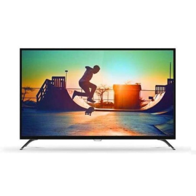 Philips 50PUT6002 4K Smart LED TV - Hitam (50 inch ) DVB-T2 + Bonus Bracket Dinding