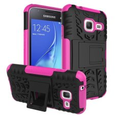 Phone Case untuk Samsung Galaxy J1 Mini J1 NXT Duos J105 J105H Tangguh Impact Case Heavy Duty Armor Hybrid Anti -Knock Silicon Cover