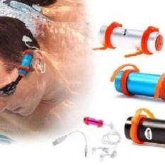 PINK Underwater Waterproof Aquabeat 4 GB dengan Radio MP3-FREESHIPPING-Intl