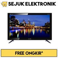 Polytron 24D8511 LED TV 24 Inch - Hitam (KHUSUS JAKARTA)
