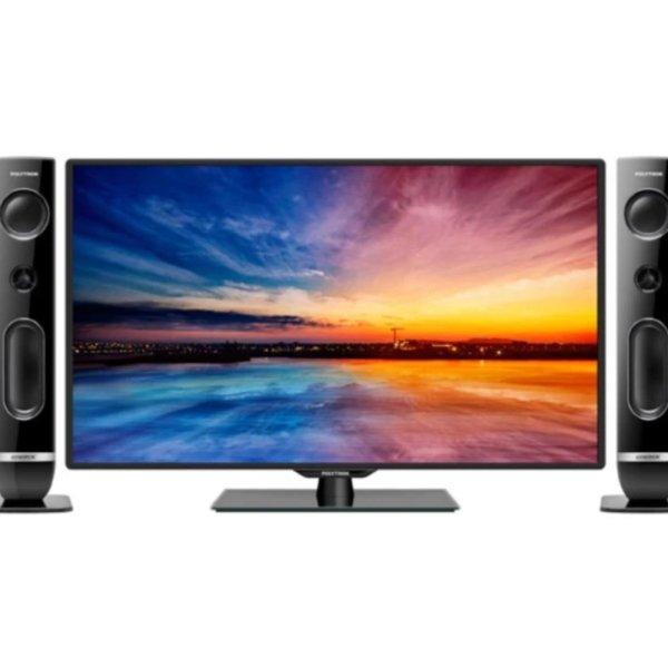 POLYTRON 40 PLD40T856 LED TV-Hitam-KHUSUS JABODETABEK