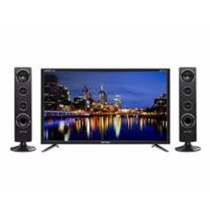 Polytron PLD24T8511 [LED 24Inch] + Speaker Set Cinemax - Hitam