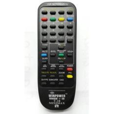 Polytron Remote TV Digitec Ninja,Xcel,Bazooke,Polyvision Tabung - Hitam