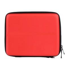 Portable Hard Shell Anti-shock Pelindung Penyimpanan Travel Hand Bag Case Holder dengan 8 Slot Kartu Permainan Carrying Strap untuk Nintendo 2DS Konsol Merah-Intl