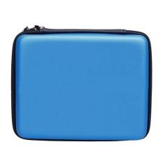 Portable Hard Shell Anti-shock Pelindung Penyimpanan Travel Hand Bag Case Holder dengan Carrying Strap untuk Nintendo 2DS Konsol Biru-Intl