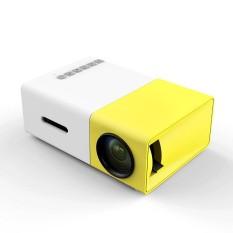 Portable YG300 Home LED Projector USB Cinema Theater Multimedia USB SD AV - intl