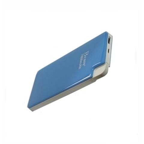 Powerbank Bcare Real Capacity 7800mAh Powerbank Slim 2 Output - Biru