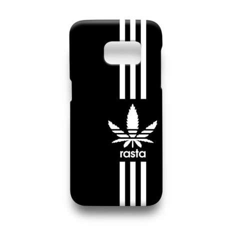 ... Musim Dingin Cap Multicolor Bergaris Rajutan Wol Topi Topi Rasta.  Source · Premium Case Love Peace Rasta Not Adidas Samsung Galaxy S7 Edge  Hard Case ... 422f786d01