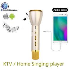 Premium Wireless Bluetooth With Microphone Powerbank Function Singing Machine Portable Magic Karaoke K068 Wireless Bluetooth Speaker dengan Mikrofon Musik Portabel