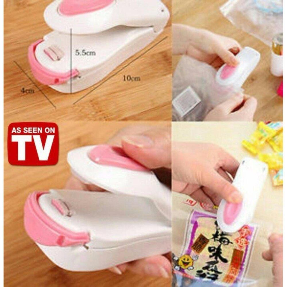 Prime Mini Portable Hand Sealer New 2nd Generation - Perekat Kemasan Plastik