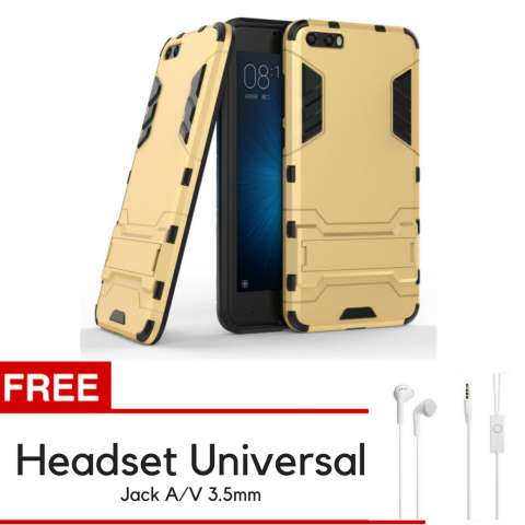 Accessories HP ProCase Kickstand Hybrid Armor Iron Man PC+TPU Back Cover Case for Xiaomi