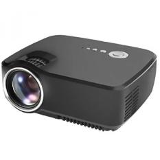 Proyektor. Syhonic 70SP HD LED Mini Proyektor Video. 1200 LumensMultimedia Home Cinema Video Game Teater Proyektor Support1080p HDMI USB SD AV VGA Input (Hitam) -Intl