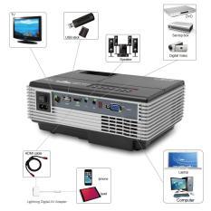 Projektor / Proyektor / Infokus YRD 600 1500 Lumens + TV Tuner + HD Quality [ Hitam ]