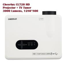 PROMO MURAH - Led Projector Cheerlux CL720 + TV Tuner- 1280X800 HD -
