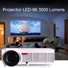 PROMO MURAH - LODS Projector LED 96 + TV Tuner 3000 Lumens- Terbaik