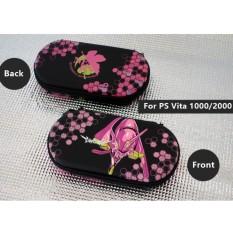 Protective Hard EVA Travel Pouch Bag Case for PSV 2000/PSV 1000/PS Vita Slim/PS Vita 1000 Neon Genesis Evangelion - intl