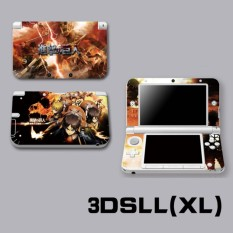 Protective Vinyl Skin Sticker Decal Cover for Nintendo 3DS XL LL Console and Controllers Attack on Titan - intl