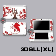 Protective Vinyl Skin Sticker Decal Cover for Nintendo 4DS XL LL Console and Controllers Neon Genesis Evangelion 01 - intl