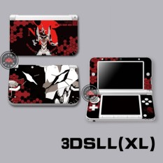 Protective Vinyl Skin Sticker Decal Cover for Nintendo 4DS XL LL Console and Controllers Neon Genesis Evangelion 02 - intl