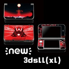 Protective Vinyl Skin Sticker Decal Cover for Nintendo New 3DS XL LL Console and Controllers Neon Genesis Evangelion 04 - intl