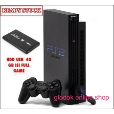 PS2 Fat Hardisk 40gb ekternal Paket lengkap