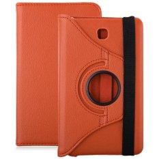 PU Leather 360 Degree Rotating Back Case Holster Protective Cover for Samsung Galaxy Tab 4 7.0 Inch T230 / T231 / T235