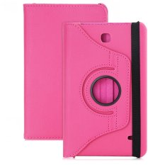 PU Leather 360 Degree Rotating Back Case Holster Protective Cover for Samsung Galaxy Tab 4 8.0 SM - T331 / T330