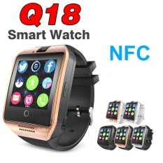 Q18 Smart Watch Bluetooth Speaker For Android IOS Apple Iphone Call Smartwatch NFC Camera Pedometer Samsung VS A1 Y1 Q50 X6 X7 - intl