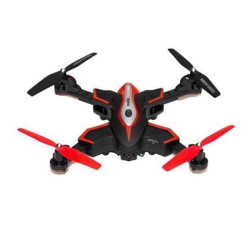 Quadcopter Foldable Syma X56W dengan WiFi Camera Live Video 4CH Headless & Altitude Hold Mode One Key Take off Landing Drone Quadcopter - Hitam 3
