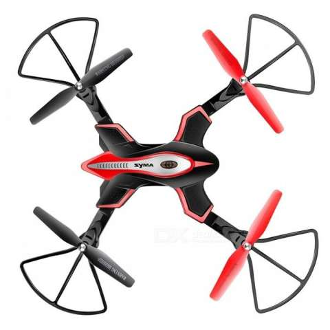 Quadcopter Foldable Syma X56W dengan WiFi Camera Live Video 4CH Headless & Altitude Hold Mode One Key Take off Landing Drone Quadcopter - Hitam 1