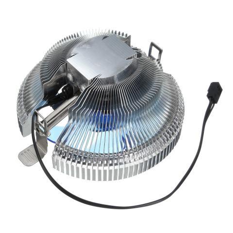 Tenang LED Kipas Pendingin Heatsink CPU untuk Intel LGA775 1155/1156 I3/I5/