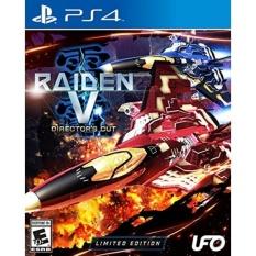 Raiden V: Directors Cut Limited Edition w/ Original Soundtrack CD - PlayStation 4 - intl