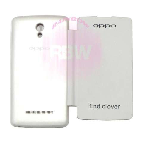 ... Home Rainbow Oppo Find Clover R815 Flip Cover Leather Case Sarung Handphone