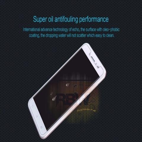 Rainbow Tempered Glass Lenovo K6 Note / Screen Protector / Pelindung Layar Lenovo / Anti Gores