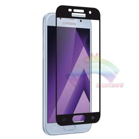 Jual Beli Rainbow Tempered Glass Samsung Galaxy A5 2017 A520 Temper Full Black Coverage Anti Gores