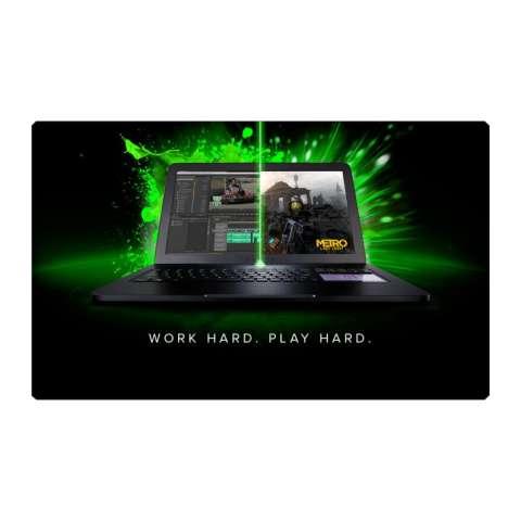RAZER Blade Pro 17 Gaming RZ09-0220 - IntelCore i7-7700HQ - RAM 16GB - HDD 256GB SSD + 2TB - VGA GTX1060M-6GB-17.3