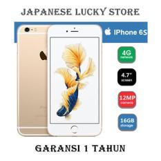 APPLE IPHONE 6S 16GB GOLD - 4G LTE - GARANSI 1 TAHUN