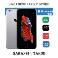 APPLE IPHONE 6S PLUS 64GB SPACE GREY - 4G LTE - GARANSI 1 TAHUN