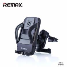 Remax RM-C03 Air Vent Smartphone Holder - Grey